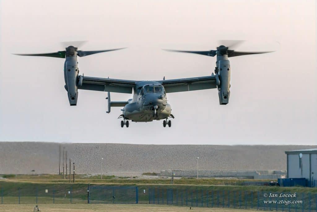 V-22 Osprey Tiltrotor - Portland, Dorset