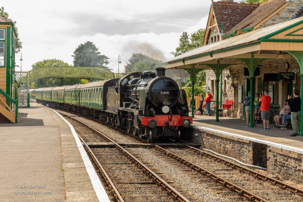Swanage Railway - Corfe Castle Station, Dorset