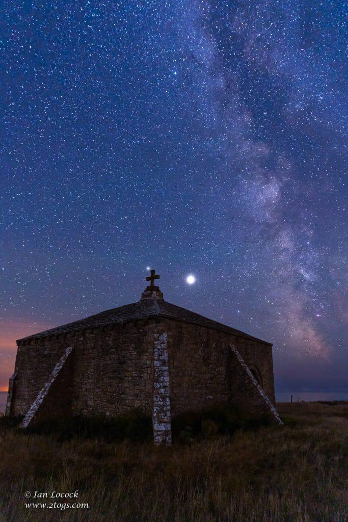 Milky Way Over St Aldhelm's Chapel, Dorset