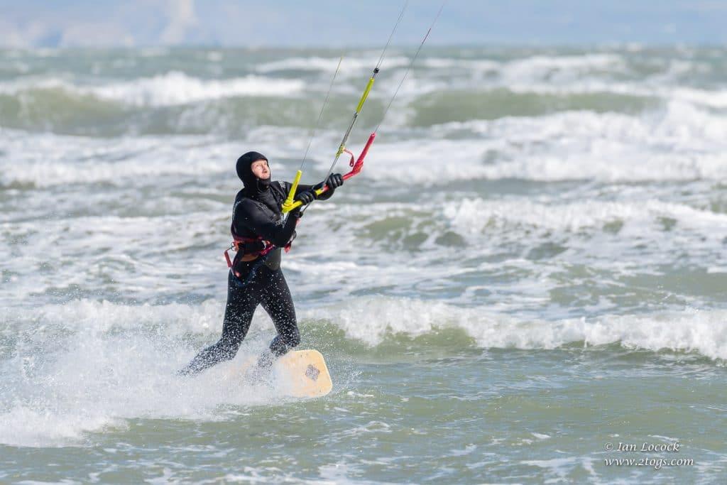 Kite Surfing - Weymouth Bay